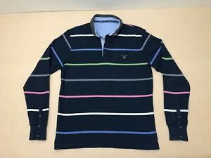 Gant-Jumper-Sweater-Mens-Size-Medium-Large-Great-Cond-Colorful-Stripes