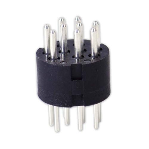 9 Pin Polig Mini Din Männlich Stecker Adapter Knickschutz für Promedia GMX