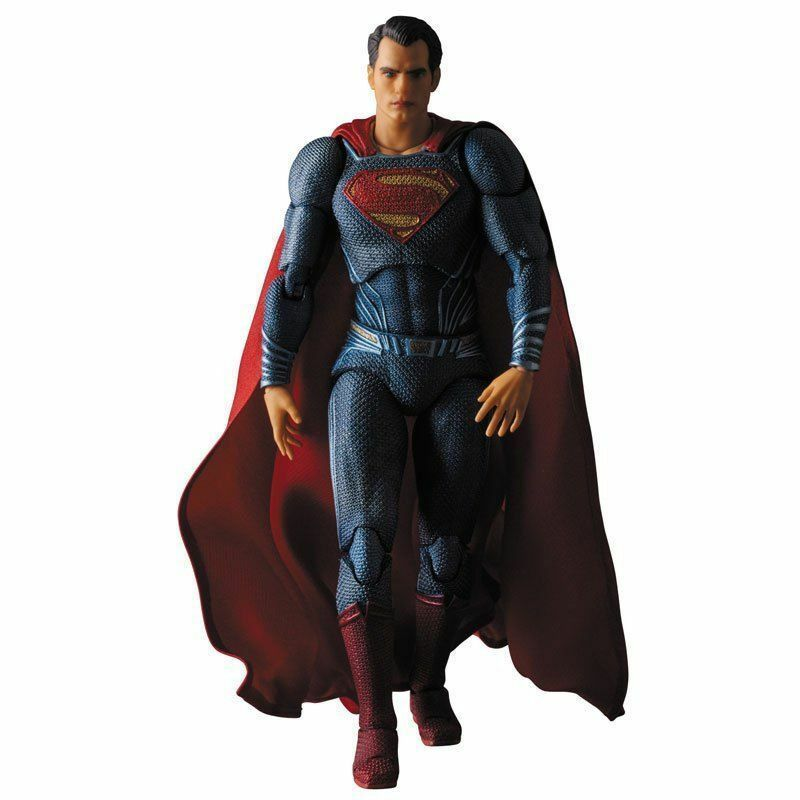 Mafex batman und superman. superman - japan - version.