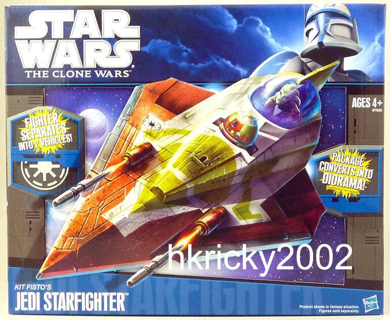 Hasbro Star Wars The Clone Wars Kit F 'S JEDI STARFIGHTER Figure
