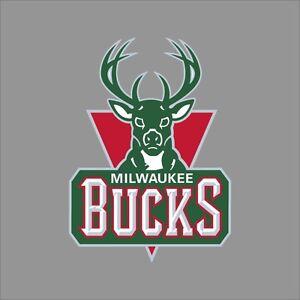 Milwaukee Bucks NBA Team Logo Vinyl Decal Sticker Car Window Wall - Custom vinyl decals milwaukee