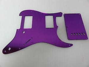 Strat-Stratocaster-Purple-Mirror-pickguard-set-Fender-HXH