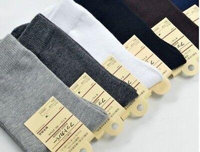 New 12pair Mens Cotton Socks Low Cut Ankle Socks Crew Sock One Size Socks