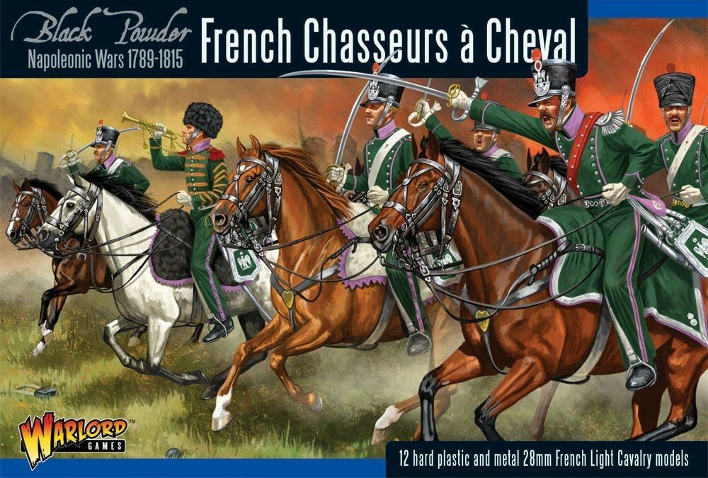 Warlord Games - Napoleonic French Chasseurs a Cheval Light Cavalry 28mm
