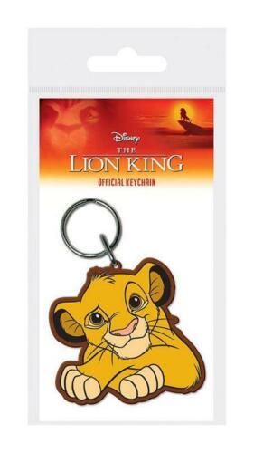 Le Roi lion porte-clés caoutchouc Simba 5 cm Disney keychain 38902C