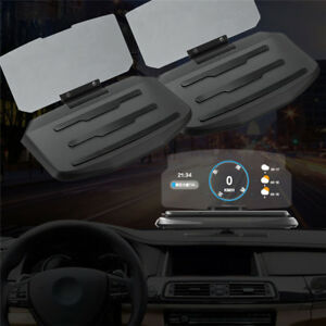 universal auto mobiles gps hud navigation head up display. Black Bedroom Furniture Sets. Home Design Ideas