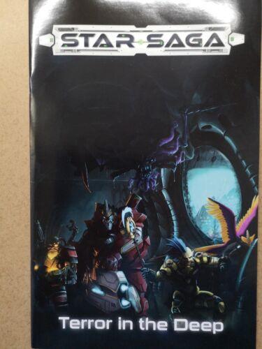 Terror in the deep booklet//star saga mantic