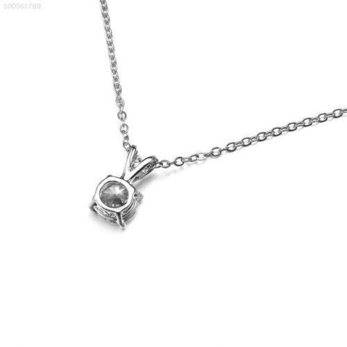 3F44 Anhänger Halskette Halsband Strass Zirkon Schönheit Frauen Für Dame Kette