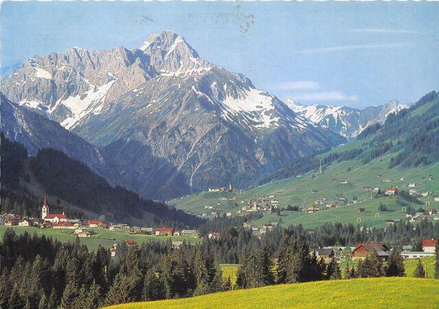 GG1741 kleines walsertal mittelberg und widderstein   austria