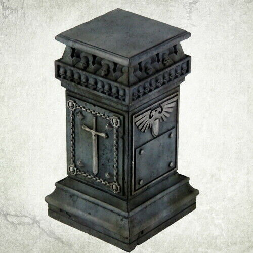 Bitz Bits  Kromlech Resin KRBK039 Imperial Pedestal 1