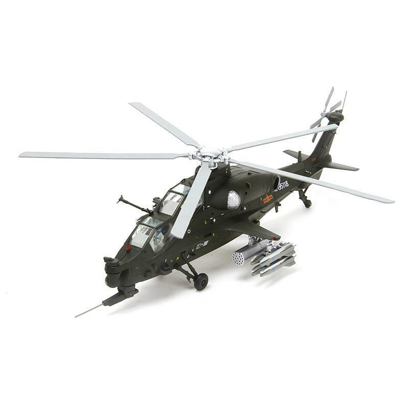 Z-10 Aircraft Helicopter 1 48 Military Airplane Static Metal Kit Display Gift