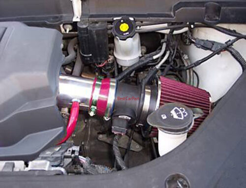 BCP RED 07-11 Acadia Enclave Outlook Traverse LTZ SLE 3.6L Short Ram Air Intake