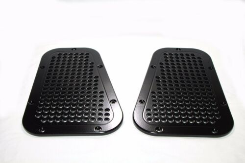 Land Rover Defender 90 110 130 wingtop vents CNC milled aluminum wing top