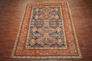 Vintage-10X12-Karajeh-Heriz-Hand-Knotted-Wool-Area-Rug-10-x-12-6