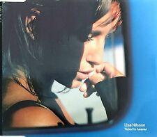 Lisa Nilsson Maxi CD Ticket To Heaven - Europe (M/EX+)