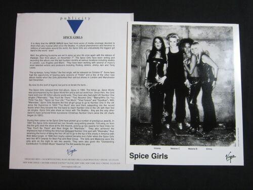 SPICE GIRLS 'FOREVER' 2000 PRESS KIT—PHOTO