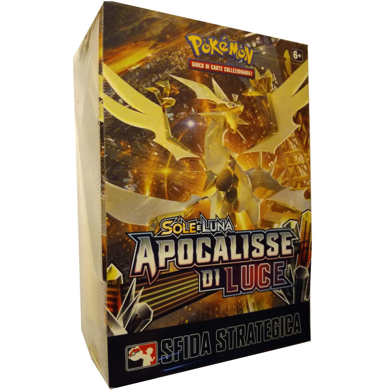 Carte Pokemon BOX PRERELEASE APOCALISSE DI LUCE nuovo!!