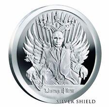 2017 1 oz .999 fine silver Winter is Here BU w/coa SILVER SHIELD Putin