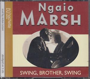 Swing-Brother-Swing-Ngaio-Marsh-3CD-Audio-Book-Abridged-Anton-Lesser-FASTPOST