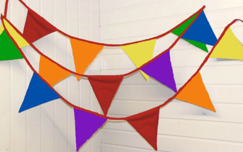 Gay Pride Rainbow Bunting 10 Metres Party LGBTQ birthday Wedding