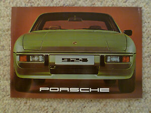 1977 Porsche 924 Coupe Showroom Advertising Sales Poster RARE! Awesome L@@K