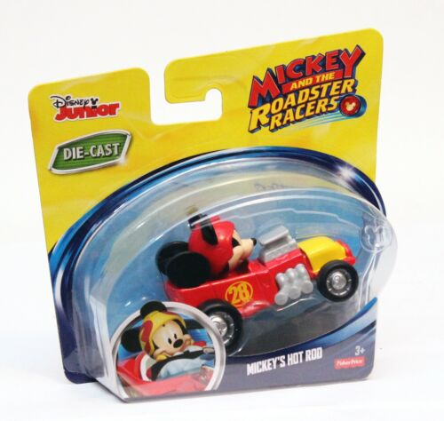 Fisher-Price Disney Mickey /& the Roadster Racers Mickey/'s Hot Rod Die-Cast Car