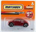 Matchbox VW Concept 1 Beetle 3x Red Target 2000