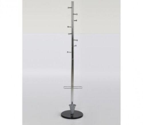 "Silver 68/"" x 12/"" Coat Hanger with Umbrella Console Ladder Coat Rack"