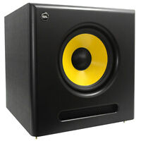 Seismic Audio Active 10 Inch Studio Subwoofer- 100 Watts Rms - 8 Ohms on sale