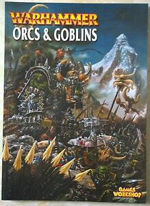 CoopéRative Games Workshop Warhammer Orcs & Goblins Supplément Livre * Nouveau * 2000-afficher Le Titre D'origine