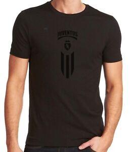cbb9bf3840a Juventus FC Italy T-shirt Tee Black Custom Graphic Camiseta Soccer ...