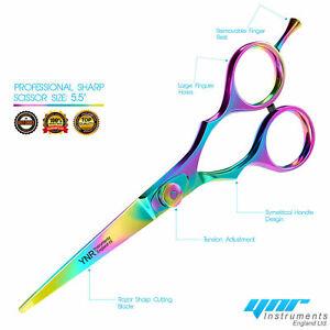 Professional-YNR-Hairdressing-Scissors-Shears-RRP-129-Titanium-Salon-Barber
