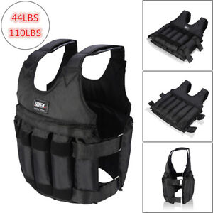 44-110LB-20-50KG-Adjustable-Exercise-Fitness-Weighted-Vest-Train-Losing-Weight