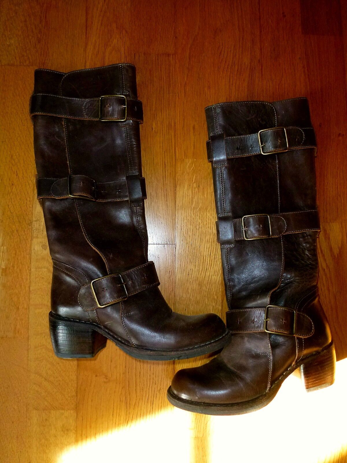 FIORENTINI Stiefel  BAKER Mellow Buckle Stiefel FIORENTINI 35 / 36 braun 5e4377