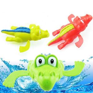 1Pc Cute Pull String Duck Crocodile Swimming Bathtime Bathtub Educational Toys