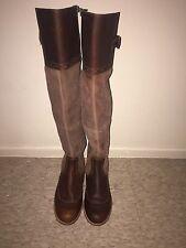Womens Timberland Ek Wiltshire Overknee Boots Size 7