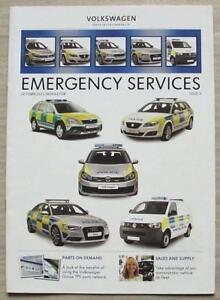 VOLKSWAGEN GROUP EMERGENCY SERVICES Newsletter Brochure Oct 2011 AUDI Skoda SEAT