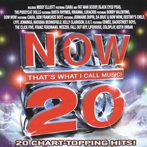 Now-That-039-s-What-I-Call-Music-20-by-Various-Artists-CD-Nov-2005-Disc-Only