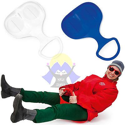 Originale Slittino Da Neve Slitta Bob Natale Per Adulti Bambini Snow Sport Sci Invernale Buono Per Succhietto Antipiretico E Per La Gola