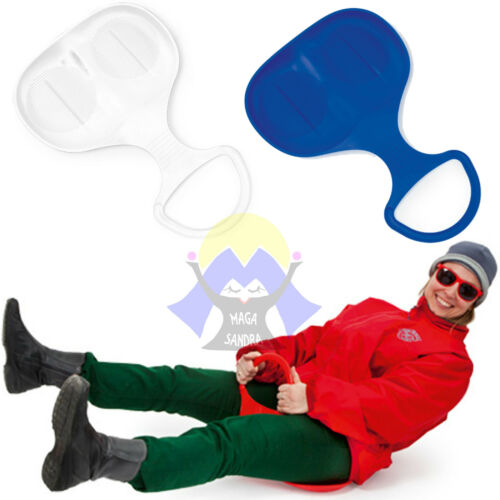 SLITTINO da NEVE Slitta BOB Natale per ADULTI Bambini SNOW Sport SCI Invernale