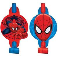 Marvel Ultimate Spiderman Blowouts Birthday Party Favors Treats 8 Count