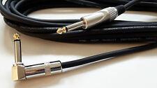 6m Gitarrenkabel Instrumentenkabel 6,35mm Winkel Klinke Kabel Gitarenkabel SGC6