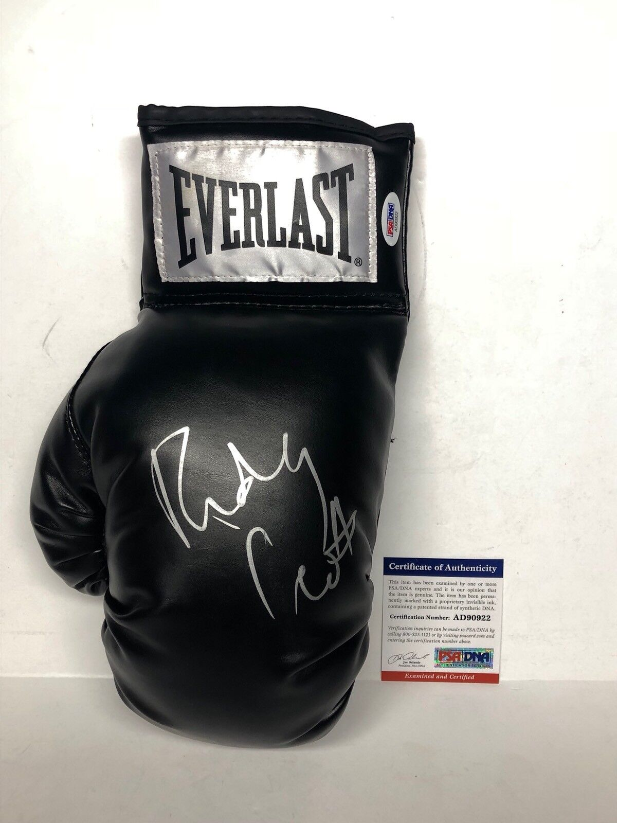 Ridley Scott Signed Boxing Glove *Film Director And Producer PSA AD90922