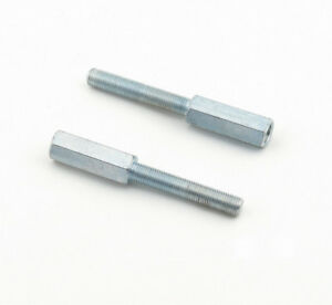 Mr-Gasket-1290-Shock-Extensions-3-8-034-24-thread-by-3-1-2-034-Long-Zinc-Plated