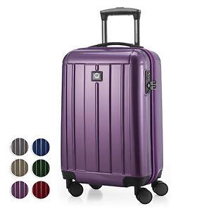 Kotti-Handgepaeck-Hartschalenkoffer-Trolley-Rollkoffer-Koffer-TSA-glanz