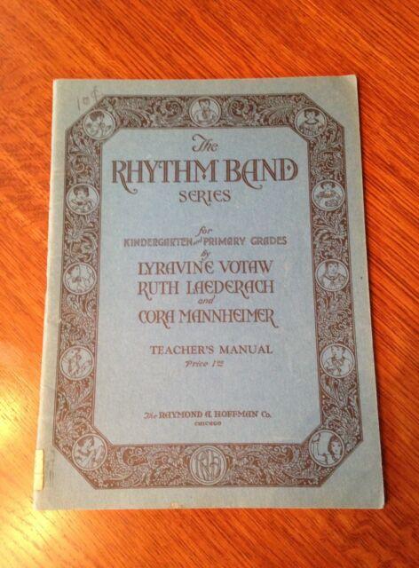 "Vintage ""Rhythm Band"" Series- Music for Children- 1920's"