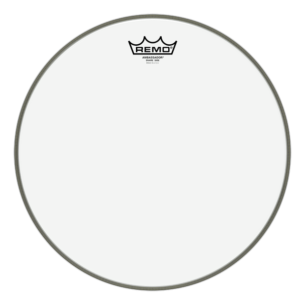 "Remo Ambassador Hazy Snare Side Drum Head, Several Sizes Available 12"" to 14"""