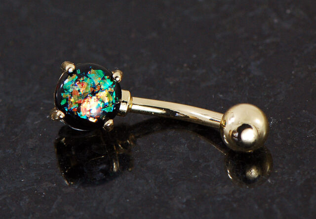 ART OF BODYJEWELRY Brilliant Gem Sparkle Belly Ring