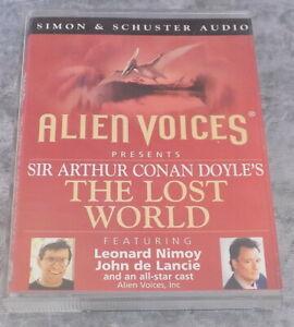 Alien-Voices-Conan-Doyle-039-s-The-Lost-World-Audio-book-Cassette-Tape-Leonard-Nimoy