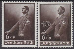 1939-3rd-Reich-Worker-039-s-Day-amp-Reichsparteitag-Flawless-MNH
